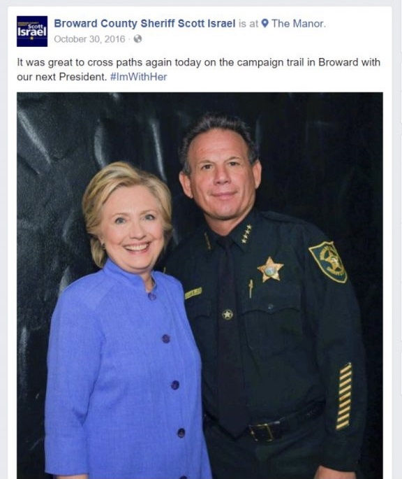 BROWARD COUNTY GOVERNMENT RESPONSIBLE FOR PARKLAND FLORIDA EVENT PERIOD