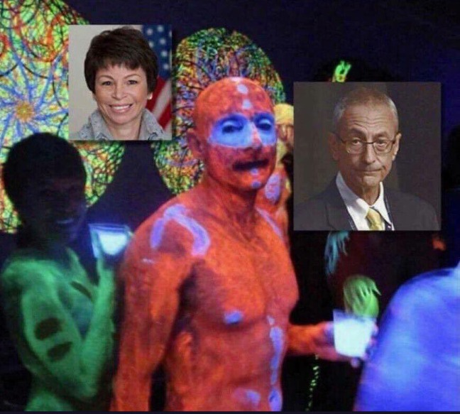 PODESTA AND JARRETT ON SHITBOX FUCKING BLOWN OUT OF THE SKY