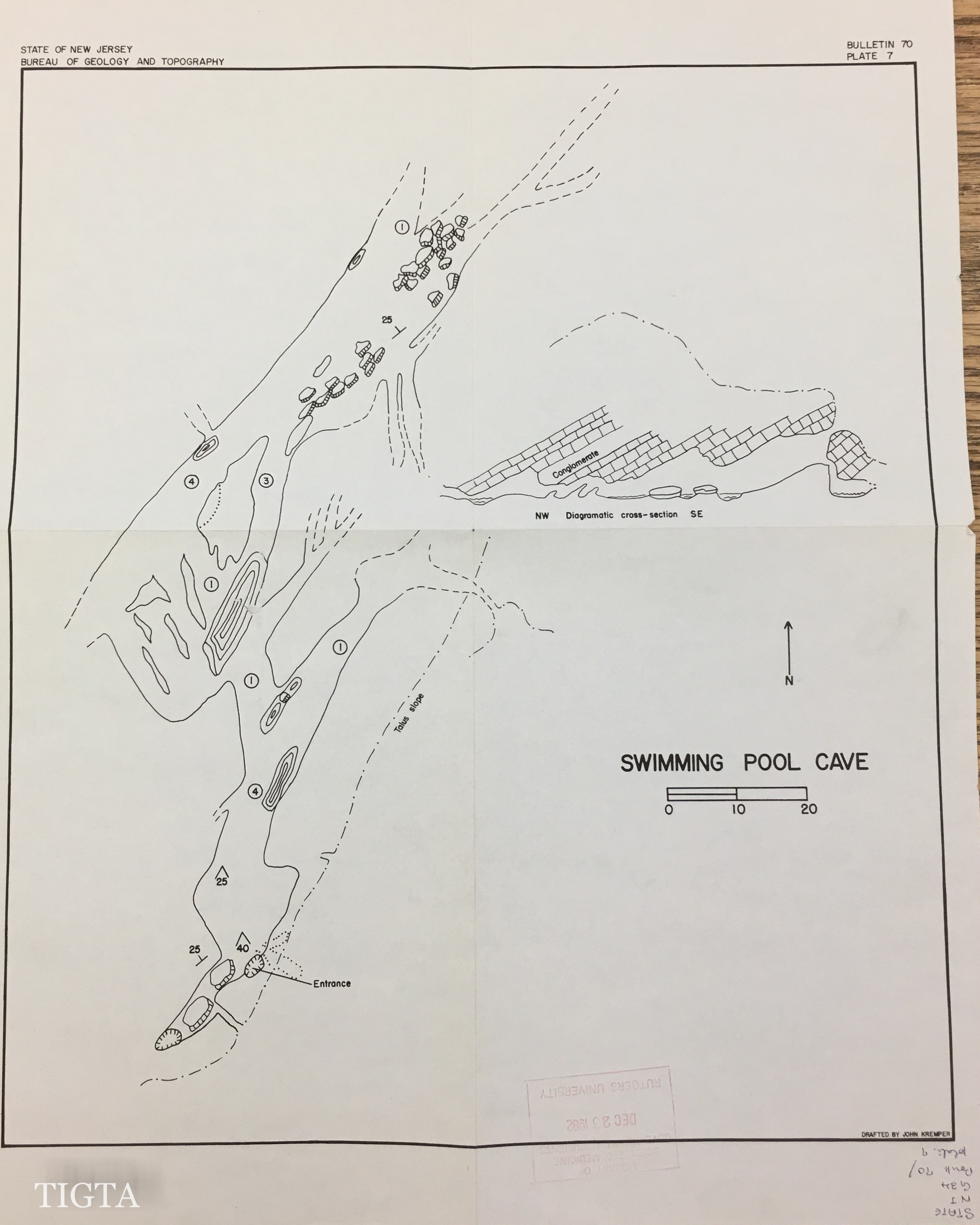 SWIMMING POOL CAVE MAP