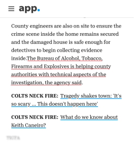 ATF ON THE GROUND IN COUNTY MONMOUTH APP