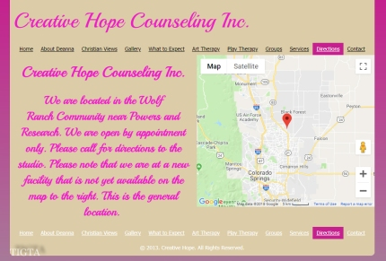 CREATIVE HOPE COUNSELING