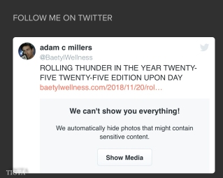 WHAT TWITTER CONSIDERS SENSITIVE CONTENT