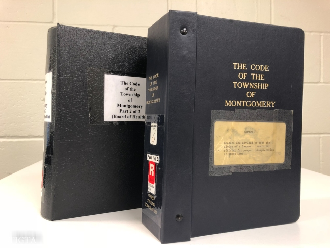 THE MUNICIPAL CODE OFTHE TOWNSHIP OF MONTGOMERY ONE